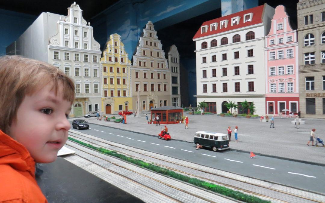 Największa makieta kolejowa w Polsce – Kolejkowo we Wrocławiu