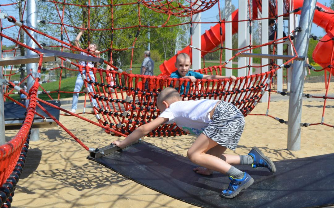 Każde dziecko kocha ruch na świeżym powietrzu