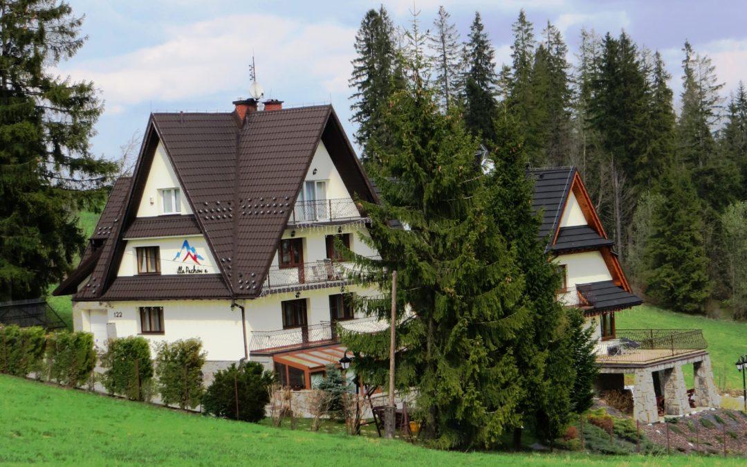 Willa Pachówka- pensjonat dla rodzin z dziećmi w Bukowinie Tatrzańskiej