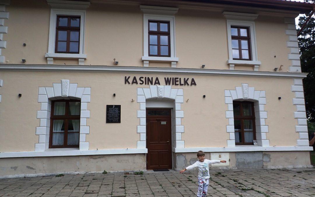 Stacja Kasina Wielka – nocleg na stacji PKP.